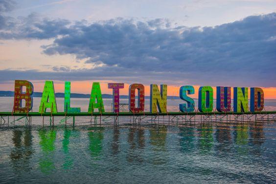 Balaton Sound music festival at Lake Balaton.