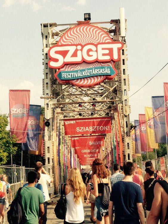 Sziget, one of the largest European Music Festivals.