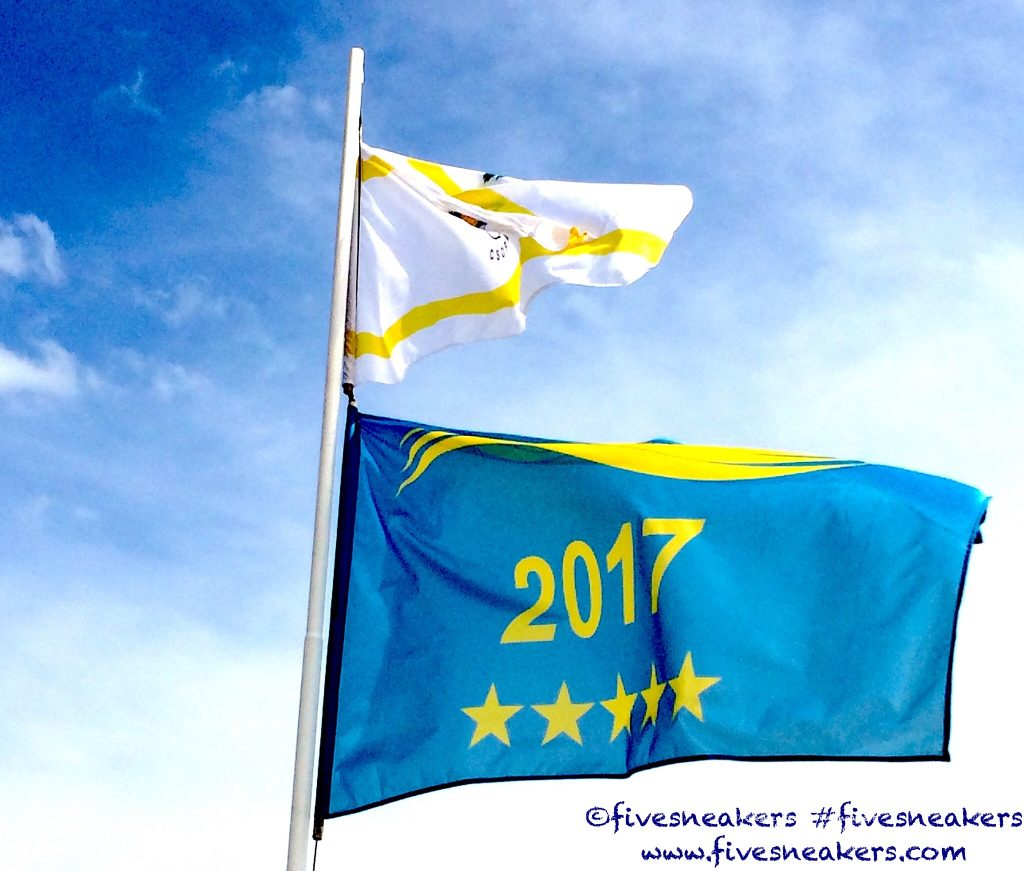 Blue Wave Flag signals the top quality beaches at Lake Balaton.