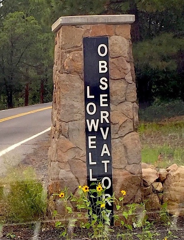 Entrance of the Lowell Observatory, the home of Pluto