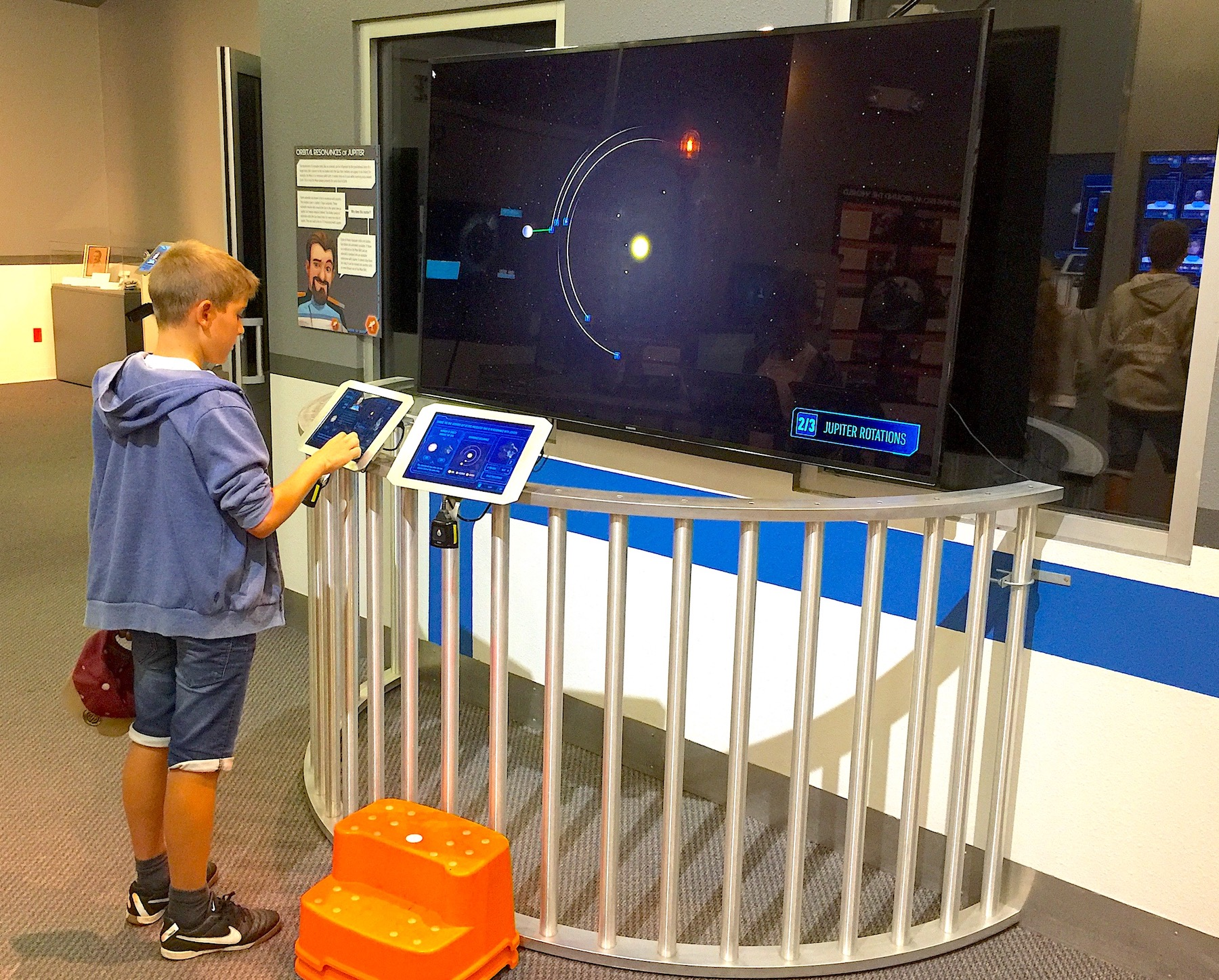 The interactive visitor center at the Lowell Observatory.